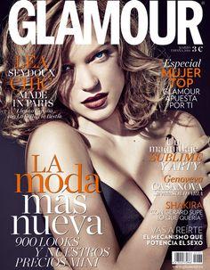 Léa Seydoux Glamour marzo 2014