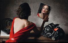 Marion Cotillard photographed by Annie Leibovitz,.