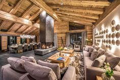 featured posts image for Luxurious chalet in the Swiss Alps offers ski resort winter escape Chalet Design, Zermatt, Plan Chalet, Industrial Style Bedroom, Rustic Lake Houses, Barn Houses, Alpine Chalet, Chalet Interior, Swiss Alps