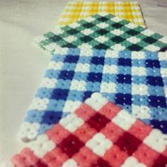 Posavasos - Coasters hama beads by olaibombai