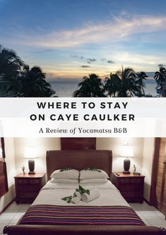 Looking for a place to stay on Caye Caulker, Belize? Yocamatsu is the perfect mix of island vibes and luxury for your stay on Caye Caulker. Belize Travel, Mexico Travel, Laying On The Beach, Caye Caulker, Belize City, Best B, Central America, South America, Adventure Activities