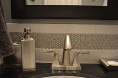 for bathroom too,  Penny tile