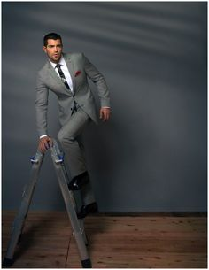 Jesse Metcalfe Appears in Ferrvor Photo Shoot, Talks Hollywood