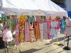 Cheap Displays for Craft Shows aprons   Craft Fair Tent