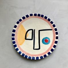 YUME is your online one-stop shop for sustainable design for the home and for your life. Next day delivery. Painted Ceramic Plates, Ceramic Pottery, Pottery Art, Pottery Painting, Ceramic Painting, Ceramic Art, Plate Design, Design Art, Clay Art Projects