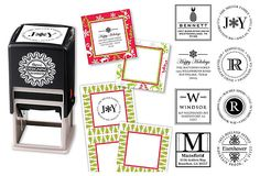 Gift Tags, Stickers & Custom Stamp, Red on OneKingsLane.com