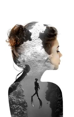 Double exposures by Nevessart , Alexis FOLLIOT www.artpeoplegall...