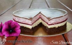 Recept: Egy díjnyertes recept, ilyen tortát nem kapsz a cukrászdában Gourmet Recipes, Cookie Recipes, Dessert Recipes, Sweet Desserts, Sweet Recipes, Chocolate Yogurt Cake, Sweet And Salty, Fondant, Muffins