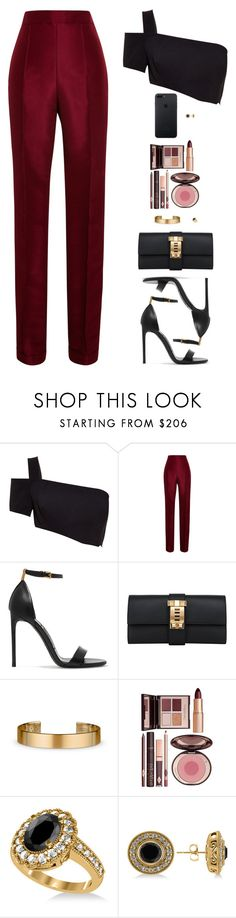 """Sin título #4559"" by mdmsb on Polyvore featuring moda, Thierry Mugler, Rosie Assoulin, Tom Ford, Hermès, Le Gramme, Charlotte Tilbury y Allurez"