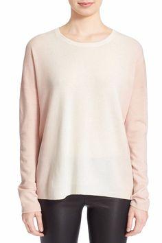 VINCE DIP DYE RAGLAN WOOL CASHMERE WOMEN SWEATER SIZE XS Cloud Waterlily  $325 in Clothing, Shoes & Accessories, Women's Clothing, Sweaters | eBay