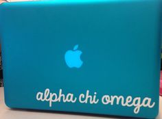 Cursive Laptop Decal by BrittsMonograms on Etsy, $5.00