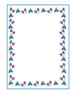 Monkeys and bananas A4 page borders (SB8473) - SparkleBox ...