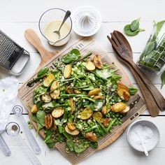 "Páči sa mi to: 96, komentáre: 4 – Sonja Dahlgren (@dagmarskitchen) na Instagrame: ""I've worked with @orthexgroup to create this lukewarm summer salad with oven roasted new potatoes…"""