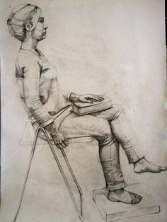 Canlı model çizimi güzel sanatlara hazırlık