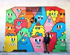 Color BA Mural