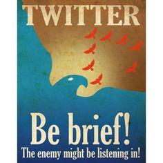 Twitter Propaganda poster #2