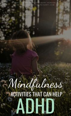 Mindfulness Activities for Children with ADHD - Mindfulness for Kids What Is Mindfulness, Mindfulness For Kids, Mindfulness Activities, Mindfulness Meditation, Meditation Music, Reiki Meditation, Mindfulness Quotes, Mindfulness Benefits, Mindfulness Therapy