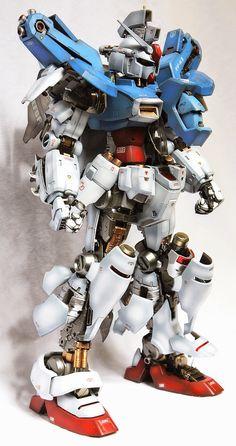 GUNDAM GUY: PG 1/60 GP-01 Gundam 'Open Hatch' - Custom Build