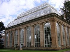 glass house at royal botanic gardens in edinburgh featured in 'conservatory style' by jackum brown via kishani perera blog