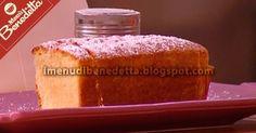 Plumcake al Limone | la ricetta di Benedetta Parodi