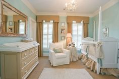 simple and stunning nursery for girl or boy