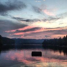 Loon Lake, Chestertown, NY #adirondacks