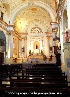 Remodelación de la Iglesia San Felipe de Neri en Casco Viejo #panama #travel #turismo