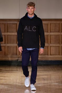 ALC Menswear AW18 • Look 15 Shoes: Converse One Star • Photo: SDR Photo Garments available to source on request • #ALCman #amandalairdcherry #SAMW #avantegarde #ratedonestar