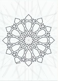 Islamicdesign Islamicpattern Arabianart Geometry - Islamicdesign Islamicpattern Arabianart Geometry Symmetry Source By Alexivadis Name Email Website Save My Name Email And Website In This Browser For The Next Time I Comment Islamic Art Pattern, Arabic Pattern, Stencil Patterns, Pattern Art, Geometric Designs, Geometric Shapes, Geometric Patterns, Geometric Circle, Motifs Islamiques
