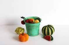 Miniature crochet fruits and vegetables / miniature от TomToy