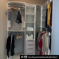 Wardrobe Room, Wardrobe Design Bedroom, Diy Wardrobe, Master Bedroom Closet, Wardrobe Storage, Spare Room Walk In Closet, Build In Closet, Small Walkin Closet, Small Walk In Wardrobe