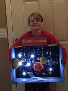 Ezra's 3rd grade solar system project