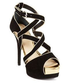 GUESS Women's Shoes, Gavrila Platform Dress Sandals - Evening & Bridal - Shoes - Macy's