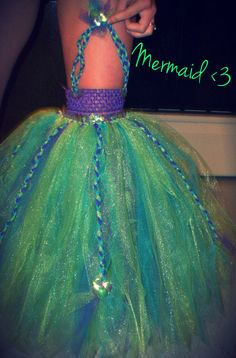 Ariel - The Little Mermaid inspired tutu