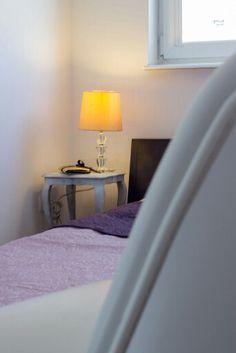 Bedroom. Sypialnia w małym mieszkaniu w Wejherowie.