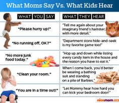 What Moms Say Vs. What Kids Hear | More LOLs & Funny Stuff for Moms | NickMom