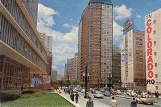 10 postais antigos coloridos de São Paulo