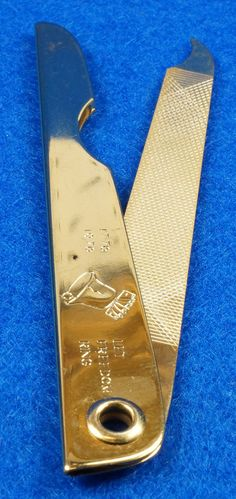 Vintage 1976 Liberty Bell Let Freedom Ring Gold Tone Nail File by Bassett USA To see the Price and Detailed Description you can find this item in our Category Vintage Jewelry on eBay: http://stores.ebay.com/tincanalley1/Vintage-Jewelry-/_i.html?_fsub=14920675018  RD14785