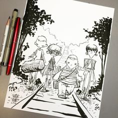 Stand By Me. Original available http://skottieyoungstore.bigcartel.com…
