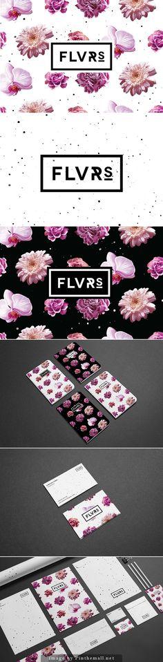Flvrs Brand Identity | graphic design inspiration | digital media arts college | www.dmac.edu | 561.391.1148