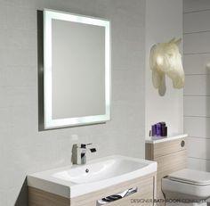 Status Designer Illuminated Bathroom Mirror From  DesignerBathroomConcepts.com
