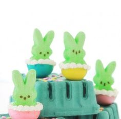 Easter Candy for Grown-Ups.....Peep-Stuffed Jello Shots