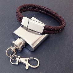 """""""Brava"""" Mens Brown Leather Two Row Bracelet - The """"Brava"""" Brown Leather bracelet features two rows of a braided style finish with a magnetic clasp for that secure fit. http://retail-trade.sololtd.com/brava-mens-bracelet.html"""