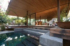Pavilion at Architect's Residence by Kythreotis Architects | Stelios Kallinikou