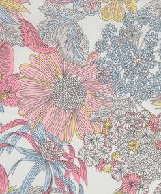 Angelica Garla D Tana Lawn, Liberty Art Fabrics. Shop our extensive range of Liberty Print Fabrics now at Liberty.co.uk.
