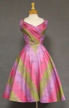1950's Peggy Wood dress