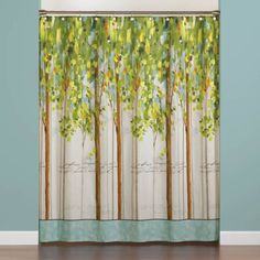 product image for Forest Study 70-Inch x 72-Inch Shower Curtain