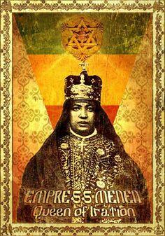 Empress Black Art Pictures, Colorful Pictures, Jamaica, Rastafari Art, Rastafarian Culture, Rasta Art, Tribal Warrior, Haile Selassie, African Royalty