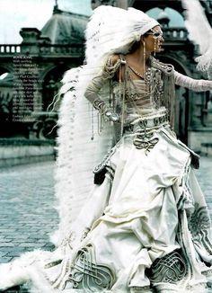 ❥ Jean-Paul Gaultier~ dripping in jewels