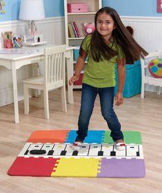 Jumbo Floor Piano Mat